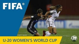 MATCH 30: JAPAN v FRANCE - FIFA Women s U20 Papua New Guinea 2016