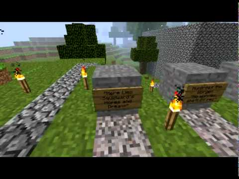 Minecraft Graveyard of References