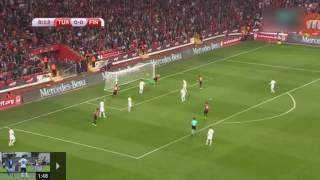 Türkiye 2 - 0 Finlandiya maçı tüm golleri/kısa özet