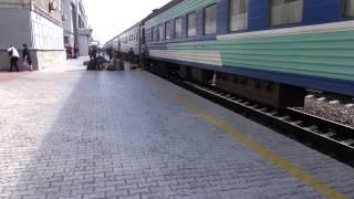 樺太東線(1) ユジノサハリンスク駅 2014年9月5日撮影