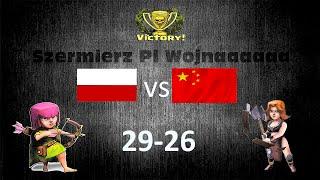 Clash Of Clans / Polska vs Chiny 29-26