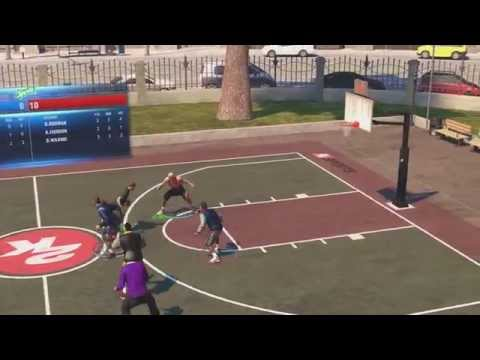 Dennis Rodman NBA 2K14 Xbox One The Park 3 Vs 3 Street Basketball Streetball Gameplay