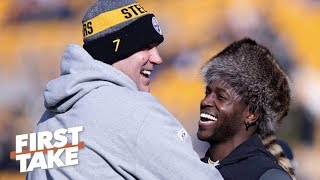 Time for Steelers to trade Antonio Brown - Marcus Spears | First Take