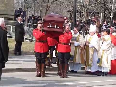 Scenes from State Funeral of Jim Flaherty at St. James Cathedral - Part 2