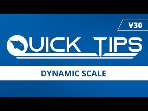 Dynamic Scale - BobCAD CAM Quick Tip