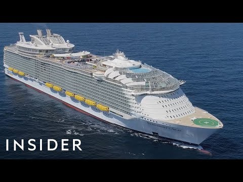 The World's Largest Cruise Ship Has Made Its Way To The Unit