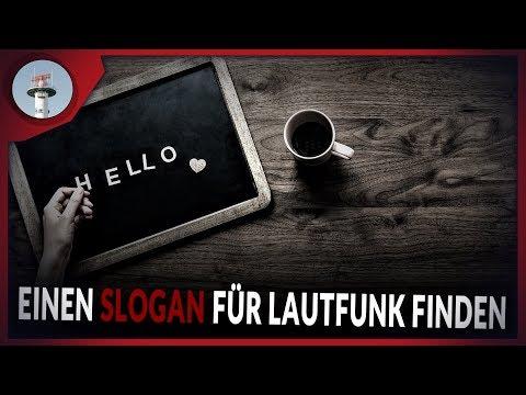 0 - Einen Slogan für LautFunk finden