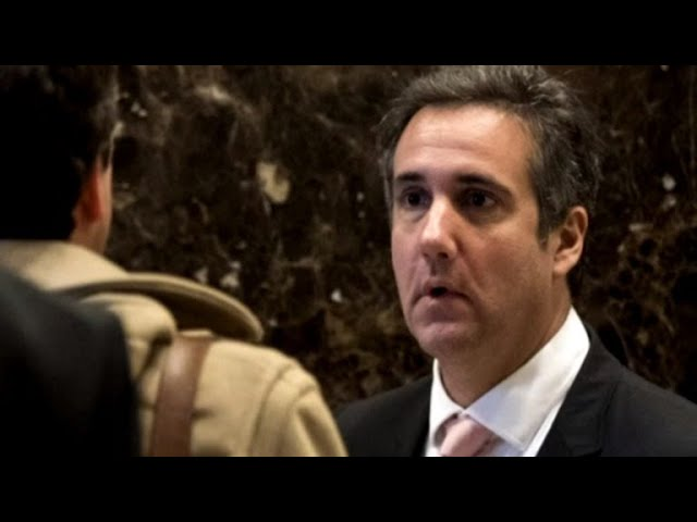Michael Cohen search warrants mentioned Trump by name