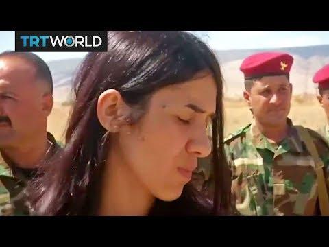 Nadia Murad: Yazidi woman who escaped...