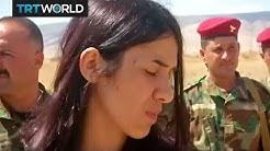Nadia Murad: Yazidi woman who escaped Daesh returns home