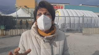 Presidio di protesta al San Timoteo: l'intervista a Marcella Stumpo