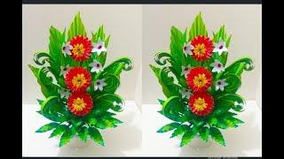 Make Beautiful Paper Flower Bouquet  Handmade Paper Flower Bouquet   Arrangement Flower Bouquet