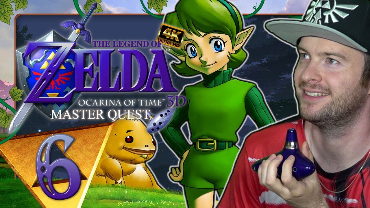 THE LEGEND OF ZELDA OCARINA OF TIME 3D MASTER QUEST ????️ #6: Salias Lied in den Verlorenen Wäldern