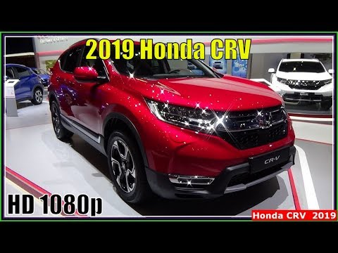 Honda CRV 2019 | New 2019 Honda CRV Interior Exterior Review