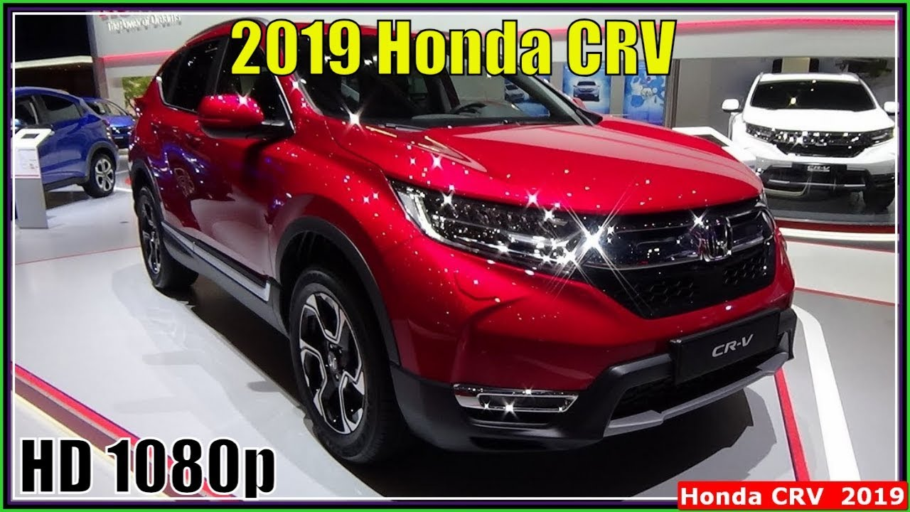 honda crv 2019 new 2019 honda crv interior exterior review youtube. Black Bedroom Furniture Sets. Home Design Ideas