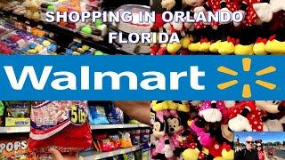 Shopping At Walmart Orlando Florida