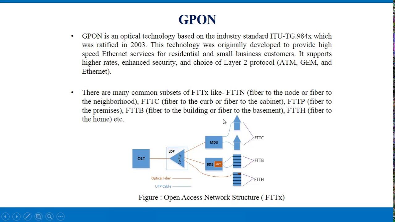 Evaluation of GPON System   gpontutorials com