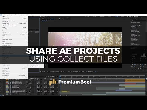 Share Entire After Effects Projects Using Collect Files | PremiumBeat.com