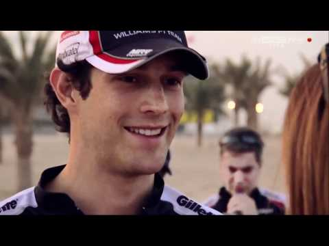 Senna Family Happy With Me Driving For Williams - Bruno: Sky Sports F1 2012 - Round 4: Bahrain