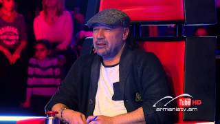 Gevorg Martirosyan,Ում by Tigran Petrosyan - The Voice Of Armenia - Blind Auditions - Season 1