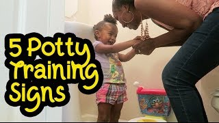5 Signs Your Toddler is Ready to Potty Train   Mom Tips