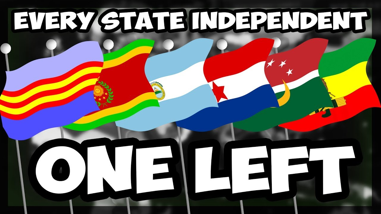 HOI4   ALL STATES INDEPENDENT - BATTLE ROYALE   JUST ONE LEFT! [20] [Hearts  of Iron 4]