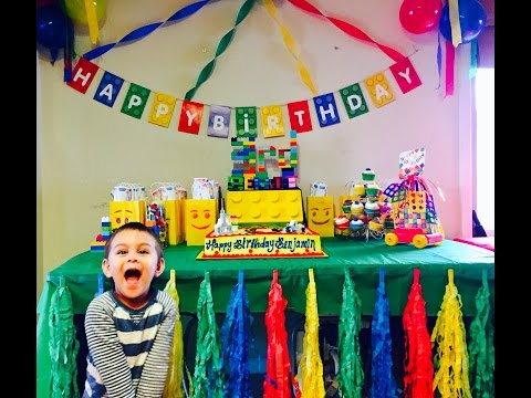 Benjamin's 3rd Birthday Party!
