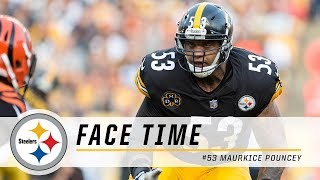 Pittsburgh steelers c maurkice pouncey talks about his close friendship with ben roethlisberger, the bond and expectations of offensive line, working wit...