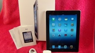 iPad 3 Unboxing | Apple iPad 3rd Generation Unbox  iPad 2012 | Black 16GB Wifi Model