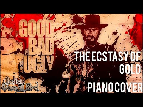 The Good, The Bad & The Ugly  The Ecstasy Of Gold Piano