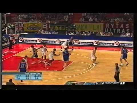 2003 Eurobasket Italy vs France Final 3rd