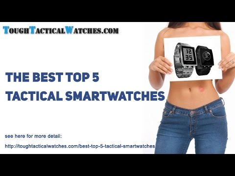 The Best 5 Tactical Smartwatches