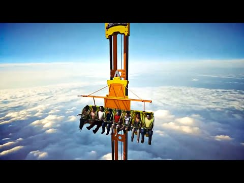 10 CRAZIEST Roller Coasters In The World