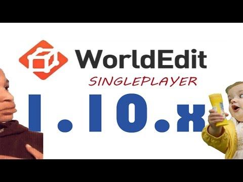 Come Mettere WORLDEDIT Su Minecraft In SINGLEPLAYER 1.10 ITA