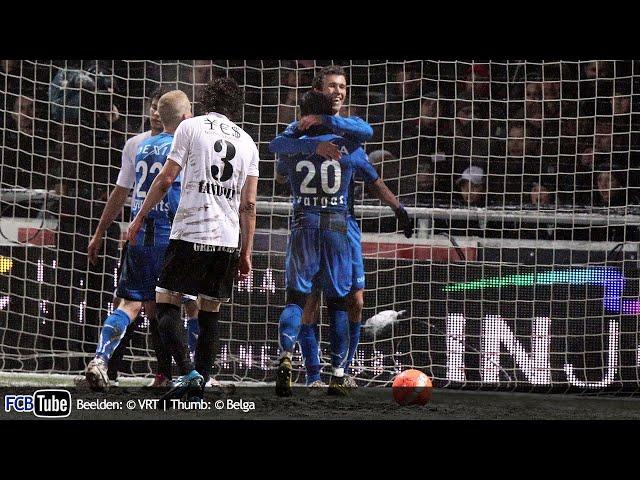 2010-2011 - Jupiler Pro League - 23. AS Eupen - Club Brugge 1-4