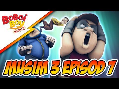BoBoiBoy Musim 3 Episod 7: Rompakan Rob, Robert & Roberto Santana