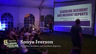 Slackline Safety, SAIR Reports 2016 - Sonya Iverson    Presentation at UHF 2016
