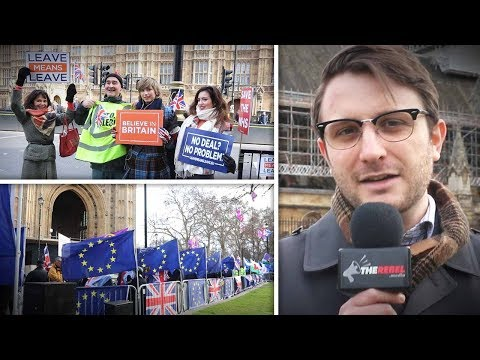 "Will Pro-Brexit Protesters Accept ""Malthouse Compromise""? 