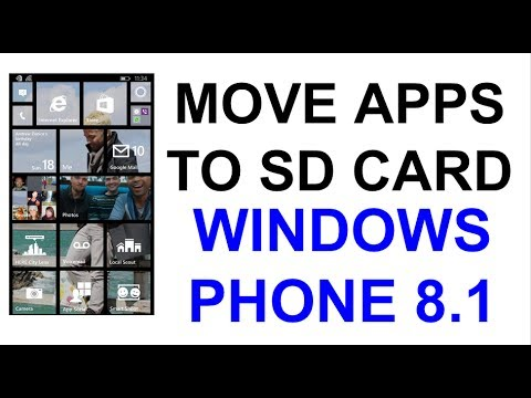 Windows Phone 8.1 - Moving Apps and Files to SD Card