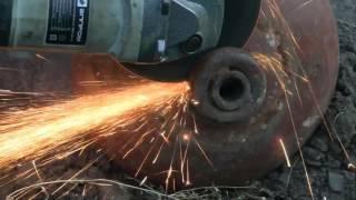 Супер гриль мангал барбекю коптильня из газового баллона(Дневник рыболова) Super Smoker