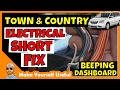 Town and Country Electrical Short   Chrysler Town and Country Wire Harness Beeping Dashboard Fix