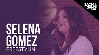For More Interviews, Subscribe ▻▻ http://bit.ly/29PqCNm Selena Gomez joined us in studio to judge our rapping. This is Freestylin'! Follow us: Twitter ...