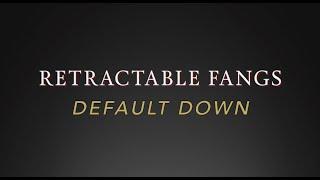 "Scarecrow Retractable Fangs ""Default Downs"" Instruction Demo"