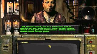 Fallout Loxley with low Intelligence