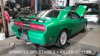 2012 DODGE CHALLENGER SPRINTEX SPS STAGE 2 + KILLER CHILLER