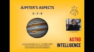 New Findings On Jupiter's 5, 7, 9 Special Aspects /बृहस्पति की स्पेशल दृष्टियों के रहस्य