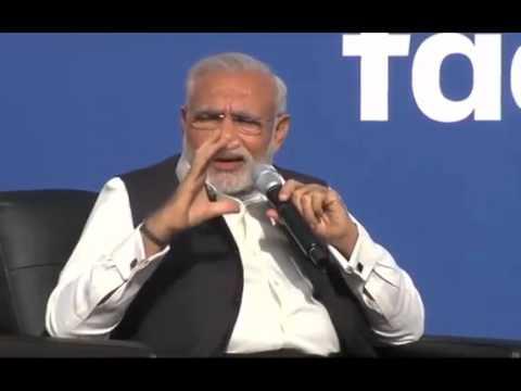 PM Shri Narendra Modi & Facebook CEO Mark Zuckerberg at Facebook HQ: Full Q&A session