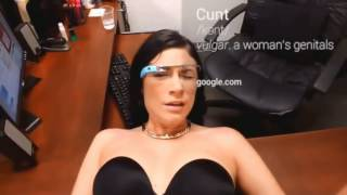 "Google glass очки ""Порно"""