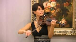 Красивая скрипка 4