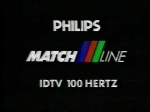 PHILIPS INTRO SPOT TELEVISIVO NUOVO TV COLOR PHILIPS MATCH LINE ...